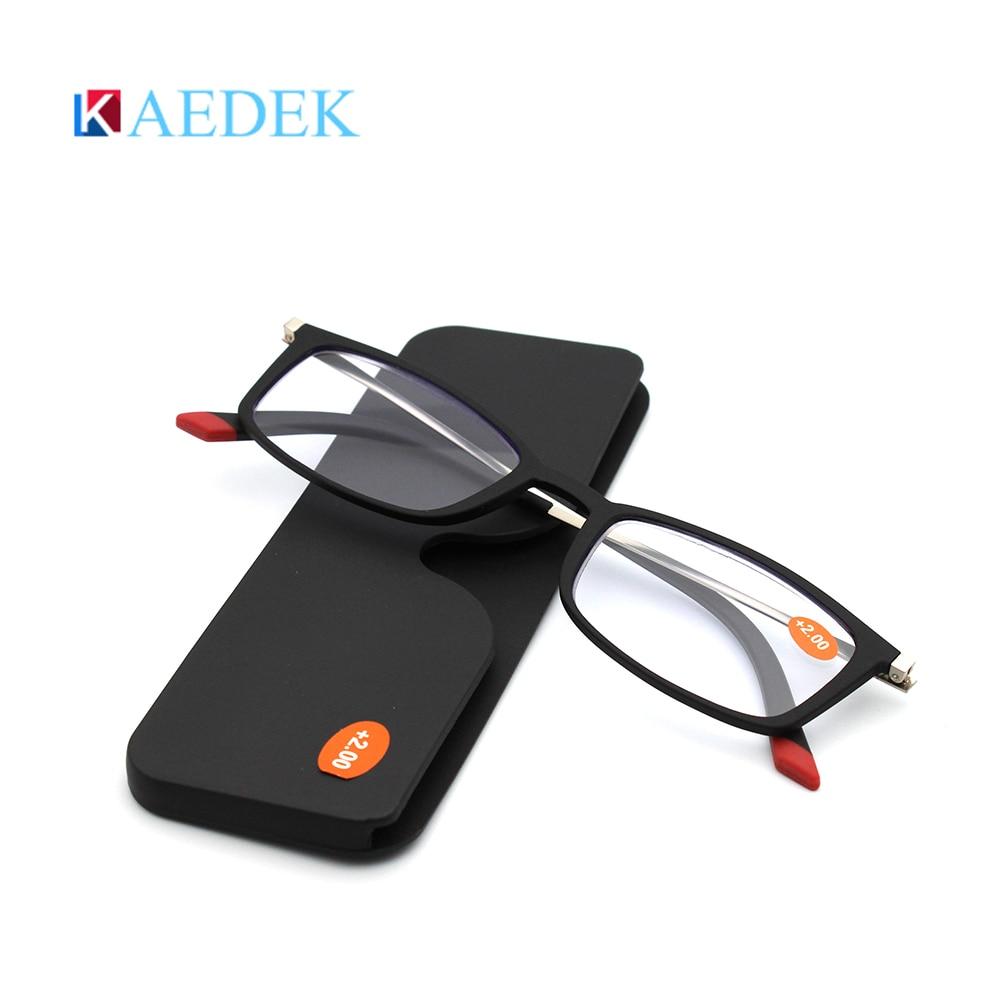 Купить ультралегкие очки для чтения kaedek мужчин и женщин небьющиеся
