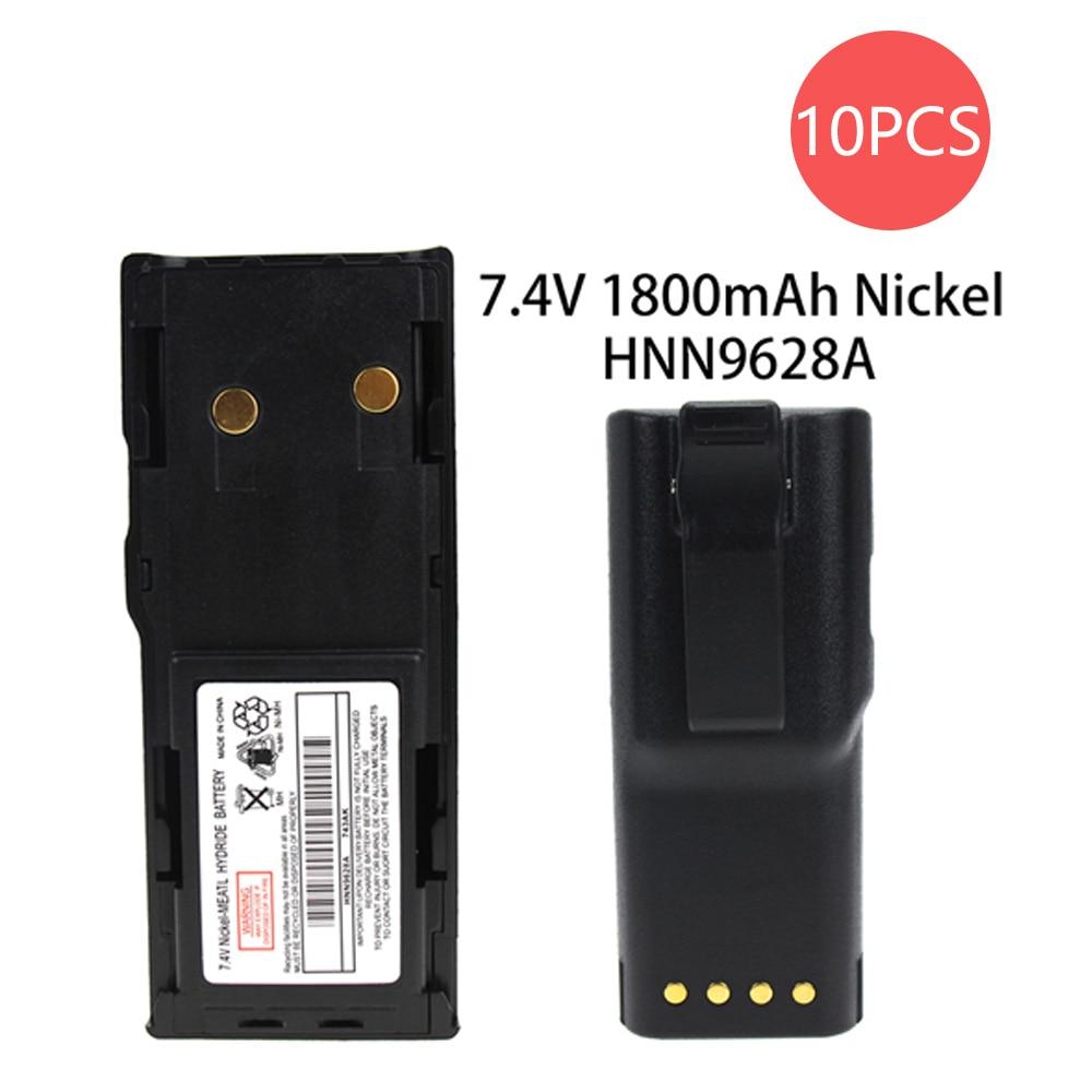 10X GP300 Battery -  for Motorola (1800mAh  7.5V NI-MHNICKEL) GTX Radios GP300 P080 MTX638 LCS2000 GTX900 GP88S GP88 MTX638 PRO3