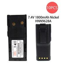 10X GP300 Battery -  for Motorola (1800mAh 7.5V NI-MHNICKEL) GTX Radios P080 MTX638 LCS2000 GTX900 GP88S GP88 PRO3