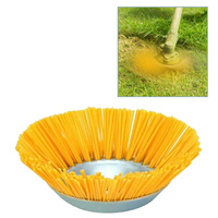 Cepillo de alambre de nailon para jardín, cabezal de corte de césped, aceras de deshierbe, herramientas de repuesto, suministros de accesorios