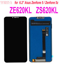 Pantalla LCD Original para Asus Zenfone 5 6,2, pantalla LCD de 2018 pulgadas para Gamme ZE620KL + digitalizador de Panel táctil para Zenfone 5Z ZS620KL X00QD