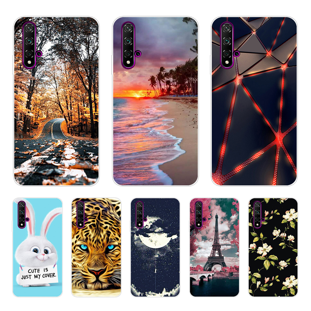 Huawei Nova 5T Case Huawei Nova5T Case Silicone TPU Phone Case For Huawei Nova 5T Nova5T Case Soft Back Protective Cover