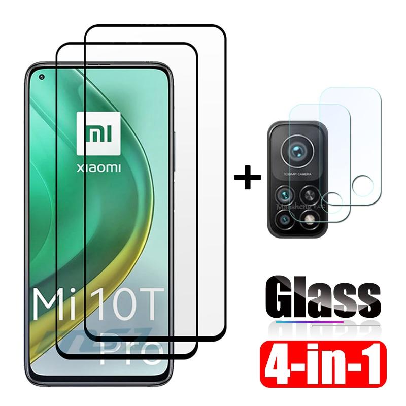 Защитная пленка из закаленного стекла для Xiaomi Mi 10 T Pro 10 t Lite 5G Защитная пленка с полным покрытием экрана протектор Закаленное стекло для Xiaomi Mi...