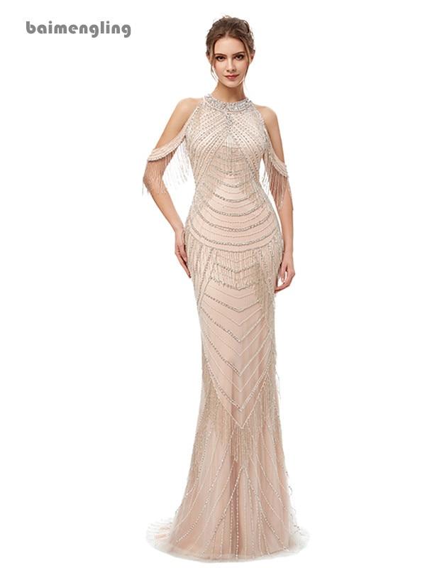 khaki evening dress, formal luxury charming long dress