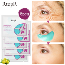 RtopR 5packs  Collagen Eye Mask Face Skin Care Firming Anti Aging Bag Dark Puffiness Hotest