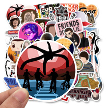 50pcs Stranger Things Stickers American Cartoon Movie For Car Laptop Motorcycle Notebook Waterproof Children Gifts