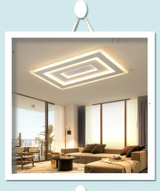 H219dc03ae4a440c68873eed5e656645eX Surface mounted modern led ceiling lights for living room Bed room light White/Brown plafondlamp home lighting led Ceiling Lamp