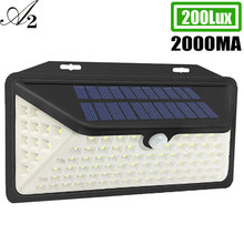 Ночной светильник на солнечной батарее a2 настенная лампа уличный