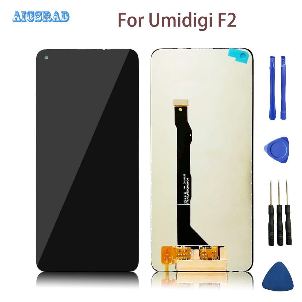 6,53 дюйма 2340*1080 Для Umidigi F2, оригинальный ЖК-дисплей + сенсорный экран, дигитайзер в сборе