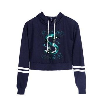 Riverdale South Side Serpents Print Hoodies Long Sleeve Shirts Women's Sweatshirt Harajuku Hoodies 6