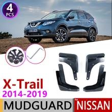 Dla Nissan x trail T32 2014 ~ 2019 błotnik błotnik straż błotnik Splash klapy akcesoria samochodowe 2015 2016 2017 2018 X Trail XTrail