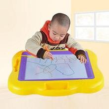 Criança Prancheta Magnética Apagável Prancheta de Desenho Magnético Escrita Pad 44x34cm Aprendizagem Educacional Brinquedo para Presente Das Crianças