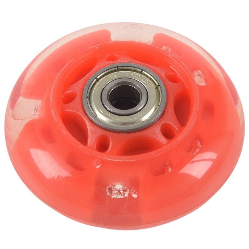 1 пара 8 мм диаметр 608ZZ подшипник встроенный скутер кататься на коньках колеса красный