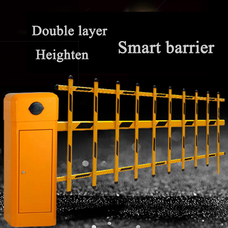 KINGJOIN High Quality Heavy Duty Remote Barrier Gate Control Guardrail Parking Barrier Gate