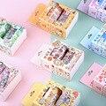 2 шт. многоцветная лента Washi, принт с героями мультфильмов Kawaii, скрапбукинг декоративный Скотч для монтажа светодиодных лампочек бумага твор...