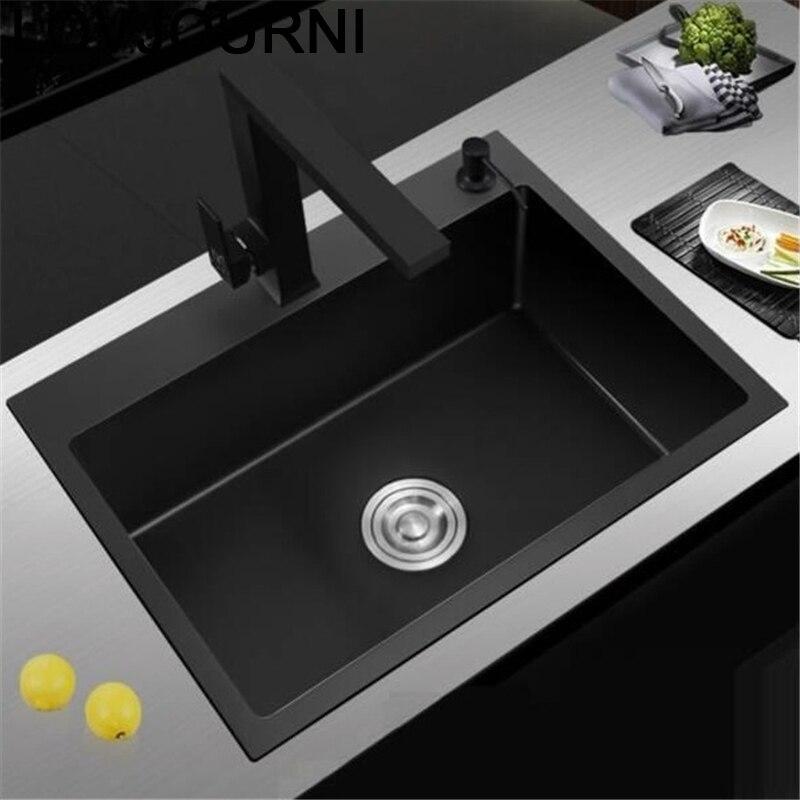 Portable Gootsteen De Cuisine Evier Tarjas Para Cocina Integral Kitchen Lavabo Fregadero Cuba Pia Cozinha Vegetable Wash Sink