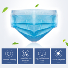 Fast 1day Face Mouth N95 Mask 3-Ply PM2.5 Disposable Anti-Dust Surgical 50pcs Mask Earloops Masks Anti-dust virus Safe KN95