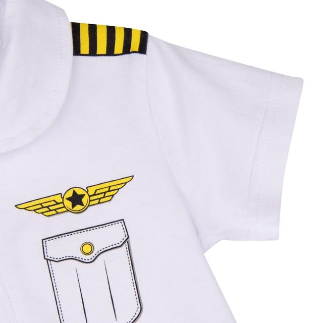 Pelele de piloto para bebé, traje de astronauta para recién nacido, traje espacial, disfraz de carnaval infantil, mono de aviador para bebé