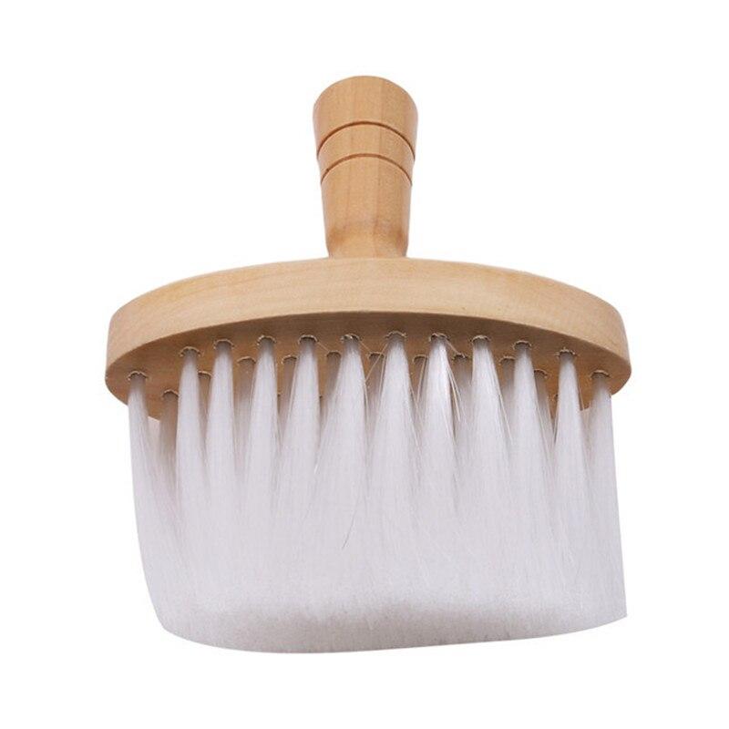 Профессиональная деревянная ручка для стрижки волос стилист-парикмахер салон Уход за шеей тряпка чистая сломанная щетка для волос