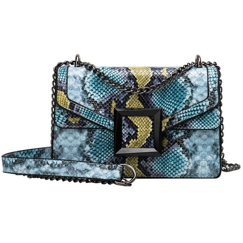 LITTHING женская сумка со змеиным принтом, сумка на плечо, винтажная женская сумка через плечо, роскошная кожаная сумка мессенджер Сумки с ручками      АлиЭкспресс