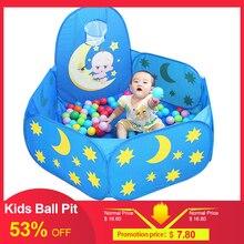 Высокое качество складной детский мяч яма для малышей складной Манеж наружная игровая площадка Крытый детский мяч яма палатка детская площадка