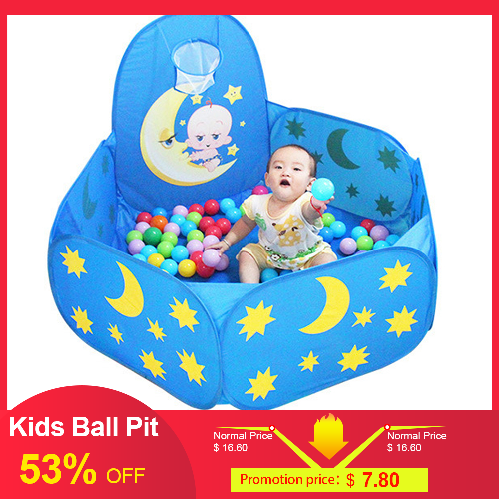 High Quality Foldable Kids Ball Pit Toddlers Folding Playpen Outdoor Playground Indoor Baby Ball Pit Tent Kids Playground