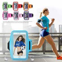 Sports Arm Band Gym Waist Pouch Runners Bum Bag & Jogging Phone Holder 10 Colors(China)