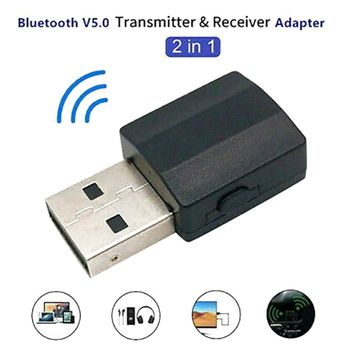 5.0 Bluetooth Transmitter Receiver 2 in 1 without any blocking objects Bluetooth Transmitter Receiver receiver mode only frsky accst taranis q x7 qx7 2 4ghz 16ch transmitter without receiver and battery mode 2 for rc multicopter