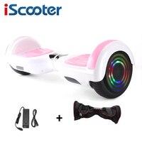 6.5 Polegada hoverboard duas rodas auto equilíbrio scooter elétrico skate hover board giroscópio com saco de transporte|Scooters de duas rodas| |  -