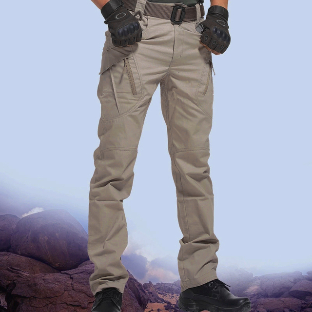City Military Tactical Pants Men SWAT Combat Army Trousers Many Pockets Waterproof  Wear Resistant Casual Cargo Pants Men 2021 5