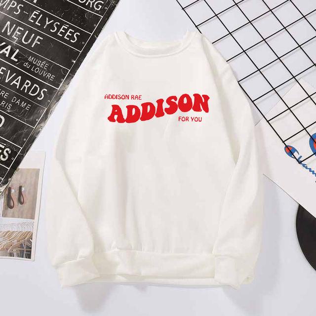 ADDISON RAE FOR YOU THEMED SWEATSHIRT (6 VARIAN)