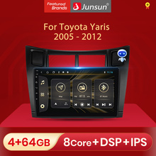 Junsun V1 pro 2G + 32G Android 10 Für Toyota Yaris XP90 2005   2012 Auto Radio Multimedia video Player Navigation GPS 2 din dvd