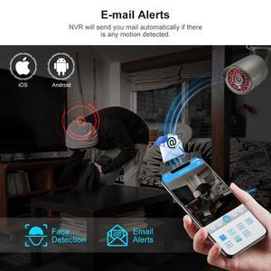 Image 4 - Techage H.265 8CH 1080P HDMI POE NVR Kit système de sécurité CCTV 2.0MP IR enregistrement Audio extérieur caméra IP P2P ensemble de Surveillance vidéo