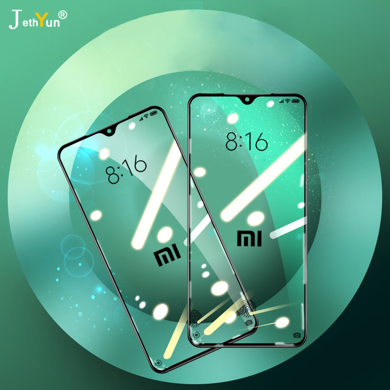 2PCS Full Cover 9D Tempered Glass For Xiaomi A3 Lite Cc9 Pro Redmi 7 8 7A 8A  Note 7 8 Pro 8T Protective Screen Protector Film