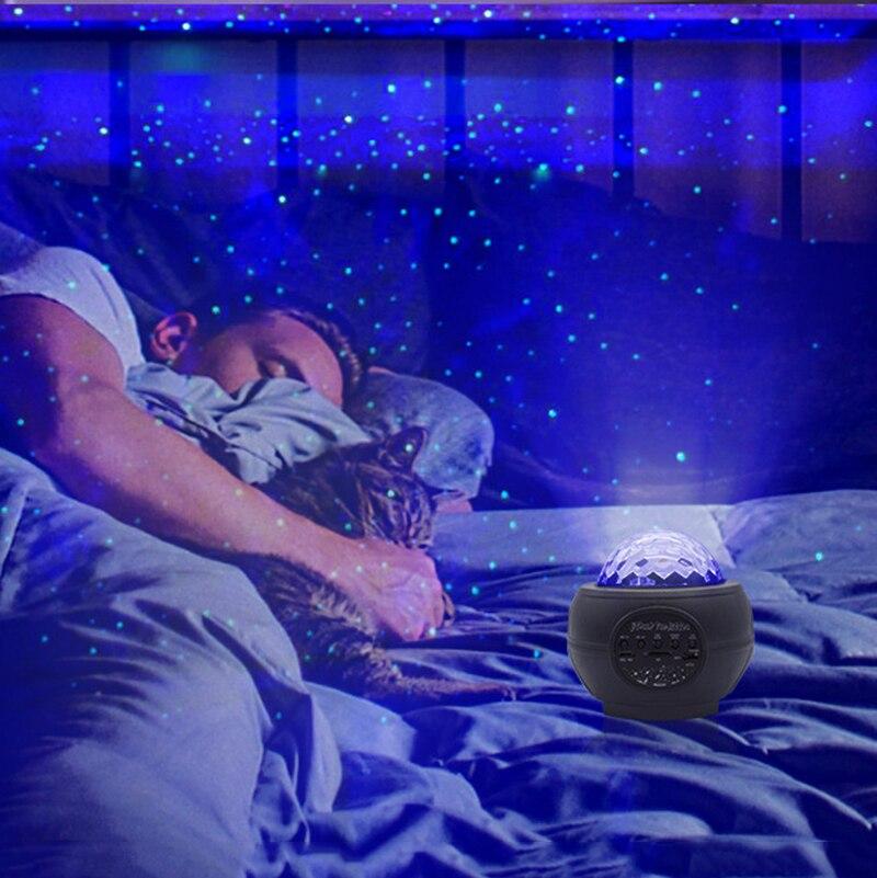 estrela céu projeção estrelado noite lâmpada led