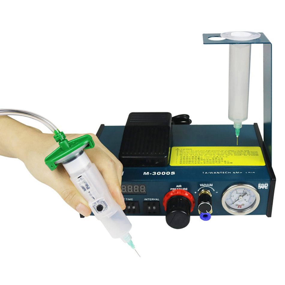 Automatic Glue Epoxy Resin Dispenser Machine Solder Paste Liquid Controller