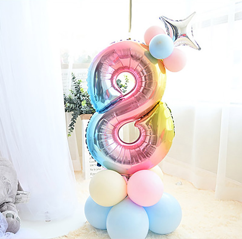 15pcs-set-Mixed-Macaroon-Latex-Balloon-Rainbow-Gradient-Number-Foil-Balloon-Happy-Birthday-Unicorn-Party-Decor (1)