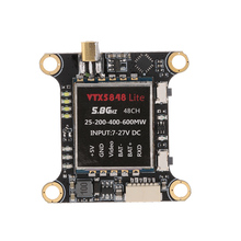 Mini VTX5848 LITE 48CH 5.8G 25/100/200/400/600mW Switchable FPV RC Drone VTX Video mini Transmitter Module OSD Control