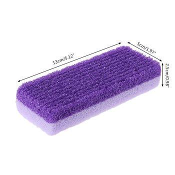 Foot File Scrubber pumeks Stone narzędzia do Pedicure Foot pocieranie złuszczanie martwa skóra modzele Remover twarda skóra pęknięta pięta C1FF tanie i dobre opinie Pilnik na stopę rękę CN (pochodzenie) app 13cmx5cmx2 5cm 5 12inx1 97inx0 98in Produkt do pielęgnacji stóp C1FF8QQ1300024