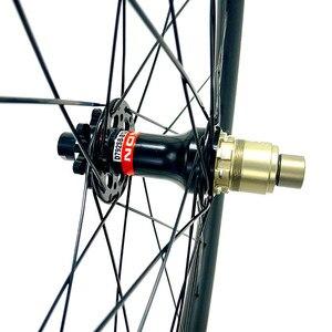 Image 4 - Велосипедное колесо 29er для горного велосипеда, асимметричное заднее колесо D792SB 148x12 мм, карбоновые горные колеса, бескамерные 1423 спицы