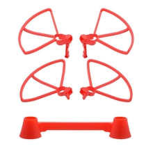 4PCS Protective Cover +1PCS Rocker for Hubsan Zino H117S Drone Accessories Aerial Four-Axis Aircraft