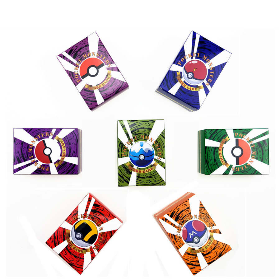 300Pcs Pokemon Cards TAG Team GX EX MEGA Energy Cards 60 100 Pokemones English Trading Game Cards Toys For Kids Gift No Repeat
