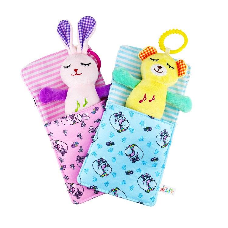 SKK Baby Music Doll Infant Pacify Toy Creative Sleeping Bag