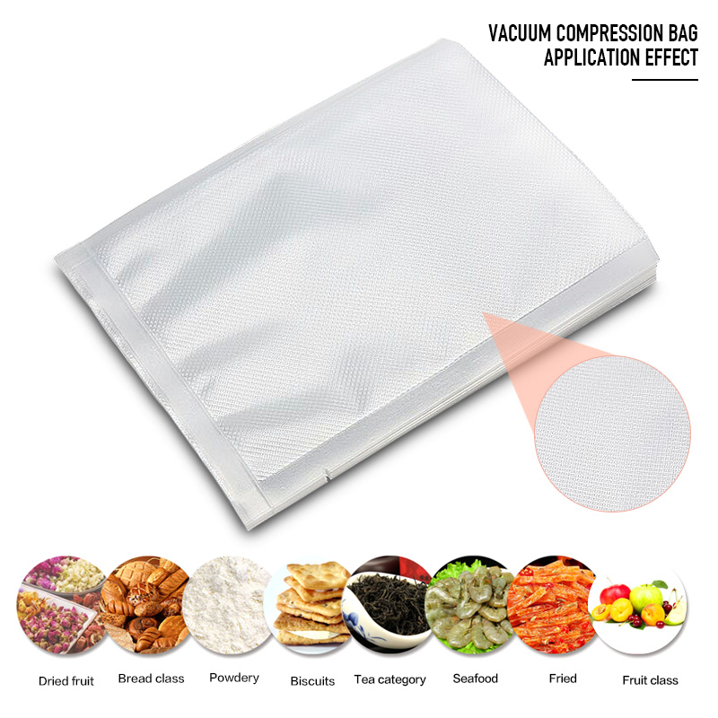 Sealer Vacuum Bag Of Vacuum Sealer Food Storage Bags Packaging Film Keep Fresh Up To Longer 28X35cm 17x25cm Vacuum Sealing Bags