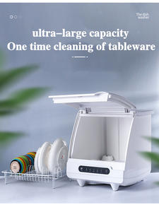 Desktop-Drying Dishwasher Household-Installation Free Intelligent Integrated-Spray-Cleaning