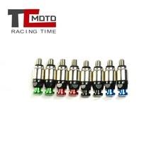 Valve de soulagement pour fourche de moto, purgeur d'air, Motocross KX125 KX KXF CRF 0.8 250 250R 250X 450 YZ125 WR250, Motocross M5 x 450