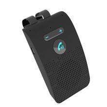 Car bluetooth 5.0 handsfree kit sun visor wireless Speakerphone multi-point hands free speaker manos libres coche