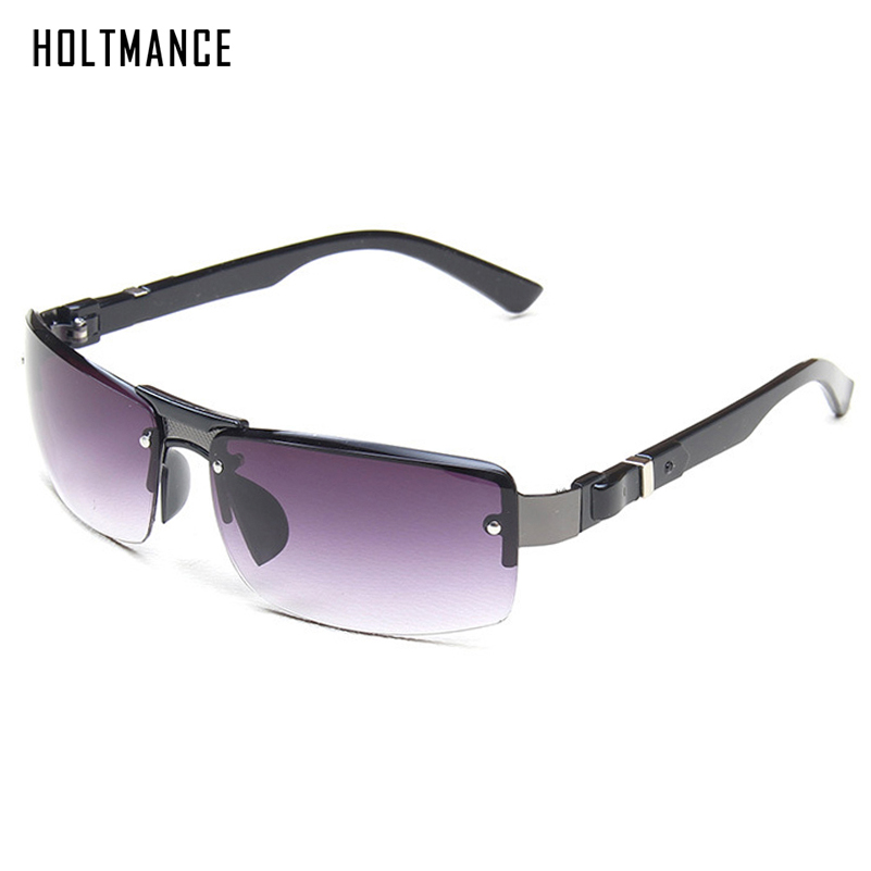 New Driving Rectangle Men Sunglasses Classic Rectangle Simple Design Windproof Sun Glasses Retro UV400 Shades Outdoor Eyewears