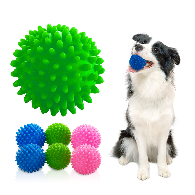 Pet Dog Toys Puppy Funny Interactive Chew Toys for Small Dog Resistant To Bite Teeth Training Rubber Ball Dog Toys Pet Supplies