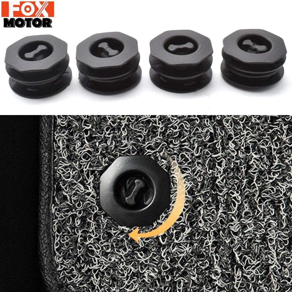 10 piece//set Car Interior Floor Mat Buckle Carpet Fixed Antiskid Fastener Clips